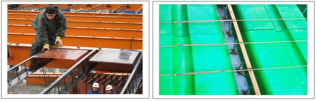 Steel Removable formwork and Polymer Removable formwork